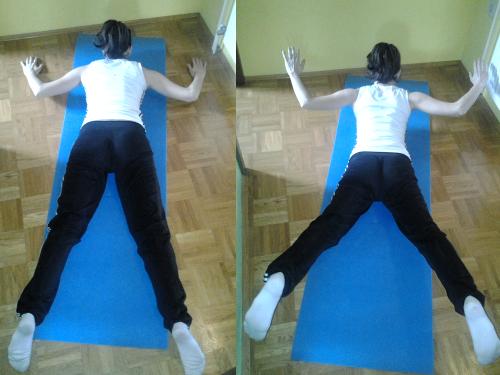 Hrbtne in glutealne mišice