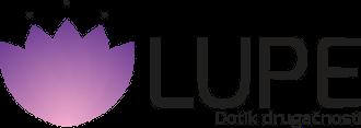 Lupe, dotik drugačnosti Logo